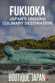 Fukuoka, Japan (aka Hakata) is one of Japan's top culinary destinations, renowned among foodies for its tonkotsu ramen and yatai food stalls.