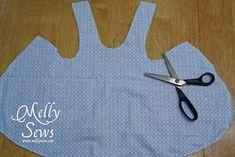 Crisscross baby dress tutorial