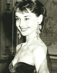 Audrey Hepburn, c. 1953.