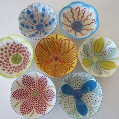 Mix and match different coloured and designed bowls. and Round: South African Pottery made by Workshop. Pottery Painting, Ceramic Painting, Ceramic Art, Pottery Bowls, Ceramic Pottery, Pottery Art, Clay Design, Ceramic Design, African Pottery