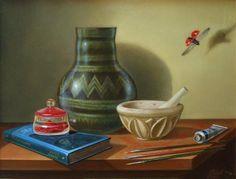 """""""L'apoteosi della pittura"""", 2012 (tempera all'uovo-olio su tela)  © copyright Felice Pedretti, all rights reserved"""