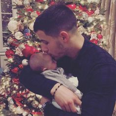 Nick Jonas Ig: So blessed to get to hold my sweet angel niece this Christmas. I love my family. Hope everyone is having time with their loved ones this holiday season.