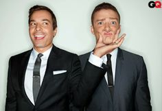 justin timberlake and jimmy fallon for GQ.