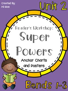 reading superpowers reading strategies posters and bookmarks in
