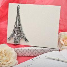 Le livre d'or mariage thème Paris