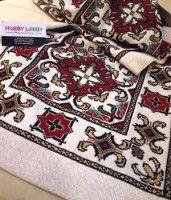 Gallery.ru / Фото #14 - hobby - ergoxeiro Cross Stitch Designs, Cross Stitch Patterns, Cross Stitch Embroidery, Hand Embroidery, Filet Crochet, Needlework, Bohemian Rug, Sewing Patterns, Knitting