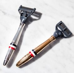 New Thom Browne x Harry's razors