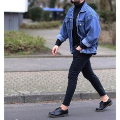 42 Cozy Men's Street Style Idea is part of Mens fashion casual - Produce your own signature look and make sure it remains fashionable A very good fall inspired outfit Dedicating time to […] Mode Outfits, Casual Outfits, Men Casual, Fashion Outfits, Fashion Trends, Stage Outfits, Kpop Outfits, Casual Wear, Fitness Outfits