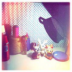 strane lampada scolapasta luce love diy vintage light