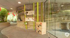 Panda Garden, Zoologischer Garten Berlin, Berlin, Germany by Dan Pearlman The Zoo, Panda Habitat, Zoo Architecture, Chinese Buildings, Swing And Slide, Construction Cost, Red Lantern, Listed Building, Berlin Berlin