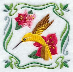 Machine Embroidery Designs at Embroidery Library! - Color Change - F6528
