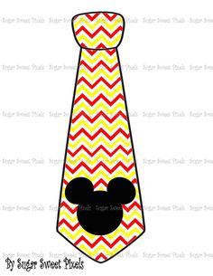 INSTANT DOWNLOAD Red yellow chevron stripe  by sugarnspicebow