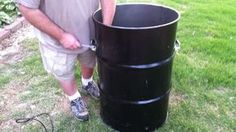 How to make your own UDS (ugly drum smoker) for cheap