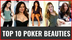 Max here from Poker Bounty presenting the TOP 10 most beautiful poker players who have more than half a million dollars in career winnings. As many female pl. World Poker Tour, Most Beautiful, Beautiful Women, Ladies Night, Other Woman, Superstar, Documentaries, Female, Lady