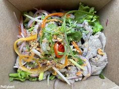 Beef Salad, Vietnamese Recipes, Cold Meals, Take Out, Pho, Menu, Restaurant, Amazing, Ethnic Recipes