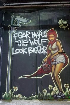 """FEAR MAKES THE WOLF LOOK BIGGER"" andy3651's,"