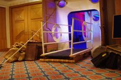 Cruise Ship Ramp for a Cruise Ship Themed Party! Cruise Theme Parties, Cruise Ship Party, Grad Parties, Themed Parties, Nautical Party, Party Props, Party Ideas, Mystery Parties, Anniversary Parties