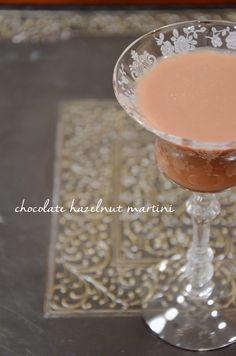 Prosecco in the Park: chocolate hazelnut martini