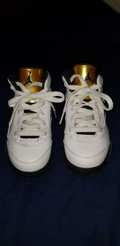 promo code ccbdc 05c70 air jordan retro 5 olympic gold size 10c kids  fashion  clothing  shoes