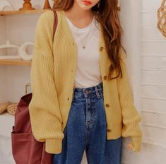 Korean Girl Fashion, Korean Street Fashion, Korea Fashion, Asian Fashion, Tokyo Fashion, Latest Fashion, Cute Casual Outfits, Outfits For Teens, Fall Outfits