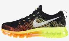 "Nike Flyknit Air Max ""Atomic Orange & Volt"""
