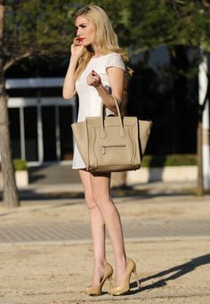 BLOG PERSONAL STYLE: My new Celine Luggage Bag
