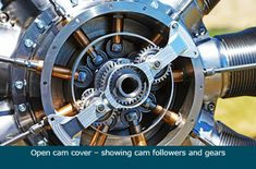 Gnome Rotary Engine Remanufacture