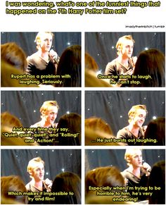 I would have loved to have a blooper reel or behind the scenes stuff on the DVD so the fans could see