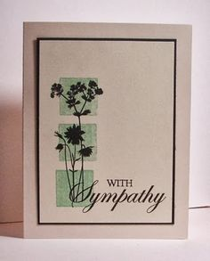 My Stamping Addiction: Sympathy