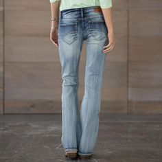 KELLY STRAWBERRY BLOSSOM JEANS: View 2