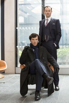 Sherlock and Mycroft - The Six Thatchers Season 4 Episode 1