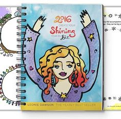 Ohhhhh Emmmm Geeee! Leonie's 2016 shining biz and life planners are now available!  As soon as I get my bundle I'll post some pics xxx Order here: http://ift.tt/1L3jJTj #shining #shine #success