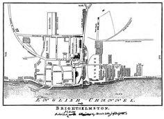 Cobby Brighton (Brighthelmston) Map (1799)