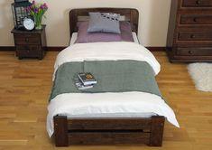 Das Bett aus massiver Kiefer bietet einen Schlafplatz für eine oder für zwei Personen. Das Bett ist das ideale Schlafmöbel für ein Kinderzimmer, Jugendzimmer oder für das Gästezimmer.     #Bett #Gästebett #Singlebett #Einzellbett #Holzbett #Jugendbett