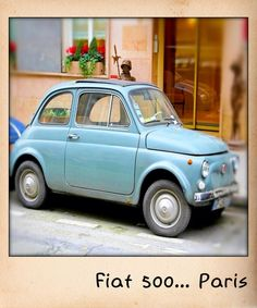 Fiat 500 in Paris