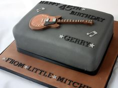 photo of guitar cake - Yahoo! Search Results www.vanillabeancakecompany...