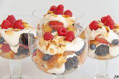 Carolines blog: Trifle met limoncello en zomerfruit