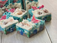 Tale of a Mermaid Cold Process Soap by Soap and Restless