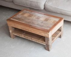 Wooden Coffee Table The Marley Handmade Pallet by PalletablesUK