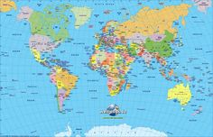 High resolution world map pdf bing images pinterest atlas of world map 101 travel destinations gumiabroncs Choice Image