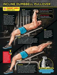 Image result for Incline Dumbbell Pull-Over