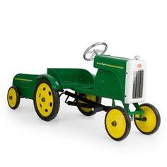 Tracteur à pédales - Vert  Baghera