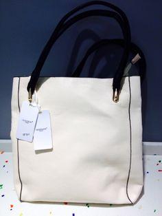 Herrison White Long Bag