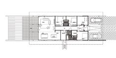 C401 Knooperf Nijland Westerflier Diepenheim 2010 tendAm Architecten Modern Barn House, Villa, Floor Plans, Flooring, Interior, Home Architecture, Indoor, Wood Flooring, Interiors