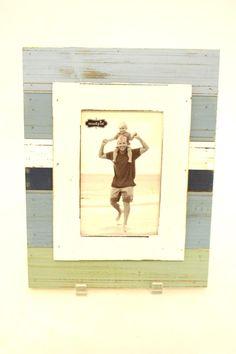 Blue Wooden Frame - main