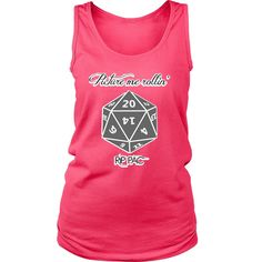 D20 Picture me rollin' RIP PAC District Womens Tank