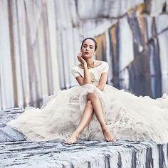 Making a statement in @ritavinieris!! Truly sitting pretty in a modern day ballgown! #RIVINI