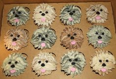 Suzys Sweet Shoppe: Puppy Cupcakes