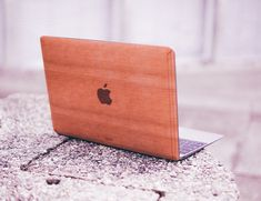 Cherry for Macbook - Handmade Cherry Wood Cover Made in USA Computer Gadgets, Daily Hacks, Apple Logo, Cool Gadgets, Tech Gadgets, Macbook, Diy Projects, The Incredibles, Make It Yourself