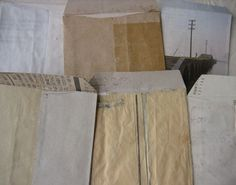 Grandfather's Envelopes, hand made by Kouzaki Hiromu during the last 15 years of his life.. the book is out of print.